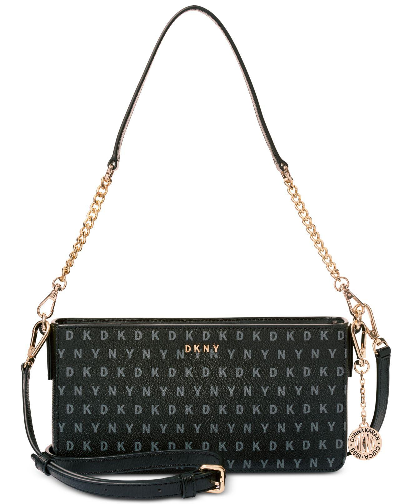 11fb5df7b5 Lyst - DKNY Bryant Small Demi Crossbody in Black
