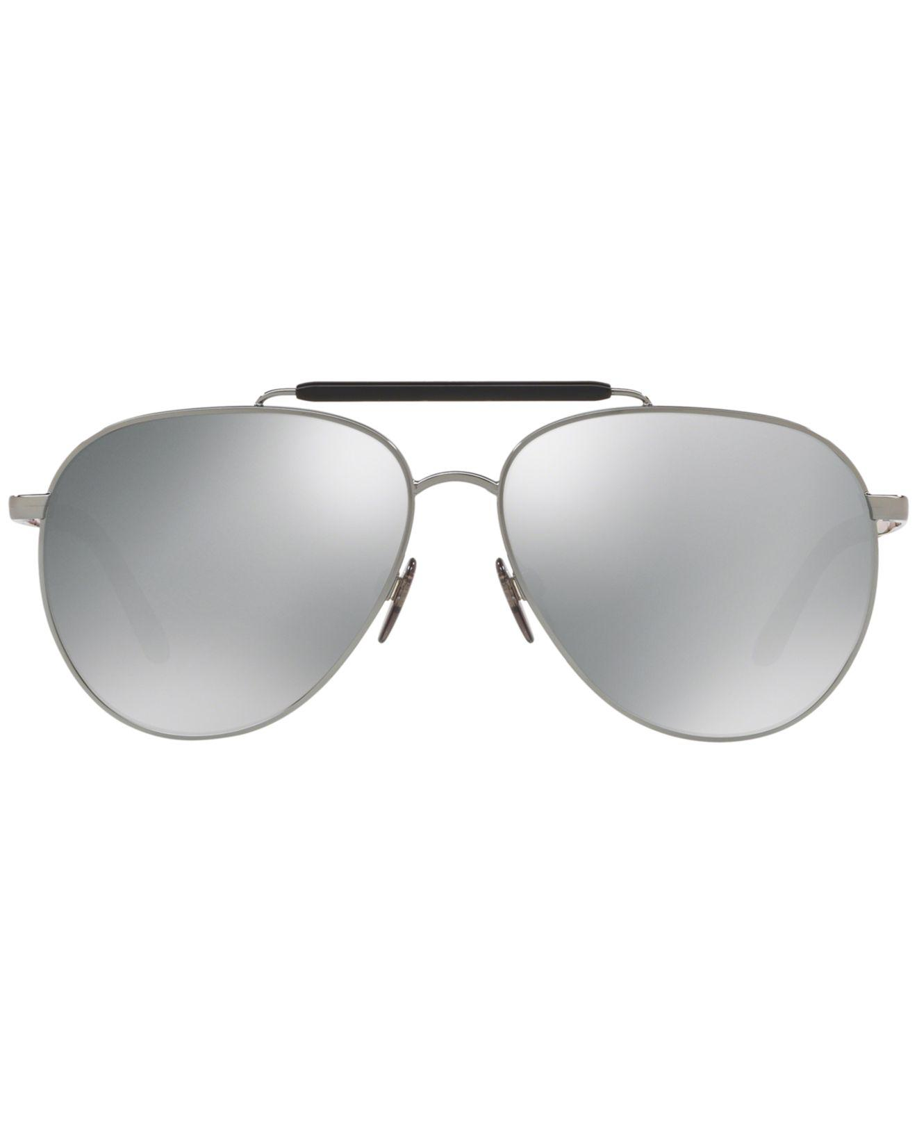 cee54dcaeef Lyst - Burberry Polarized Sunglasses