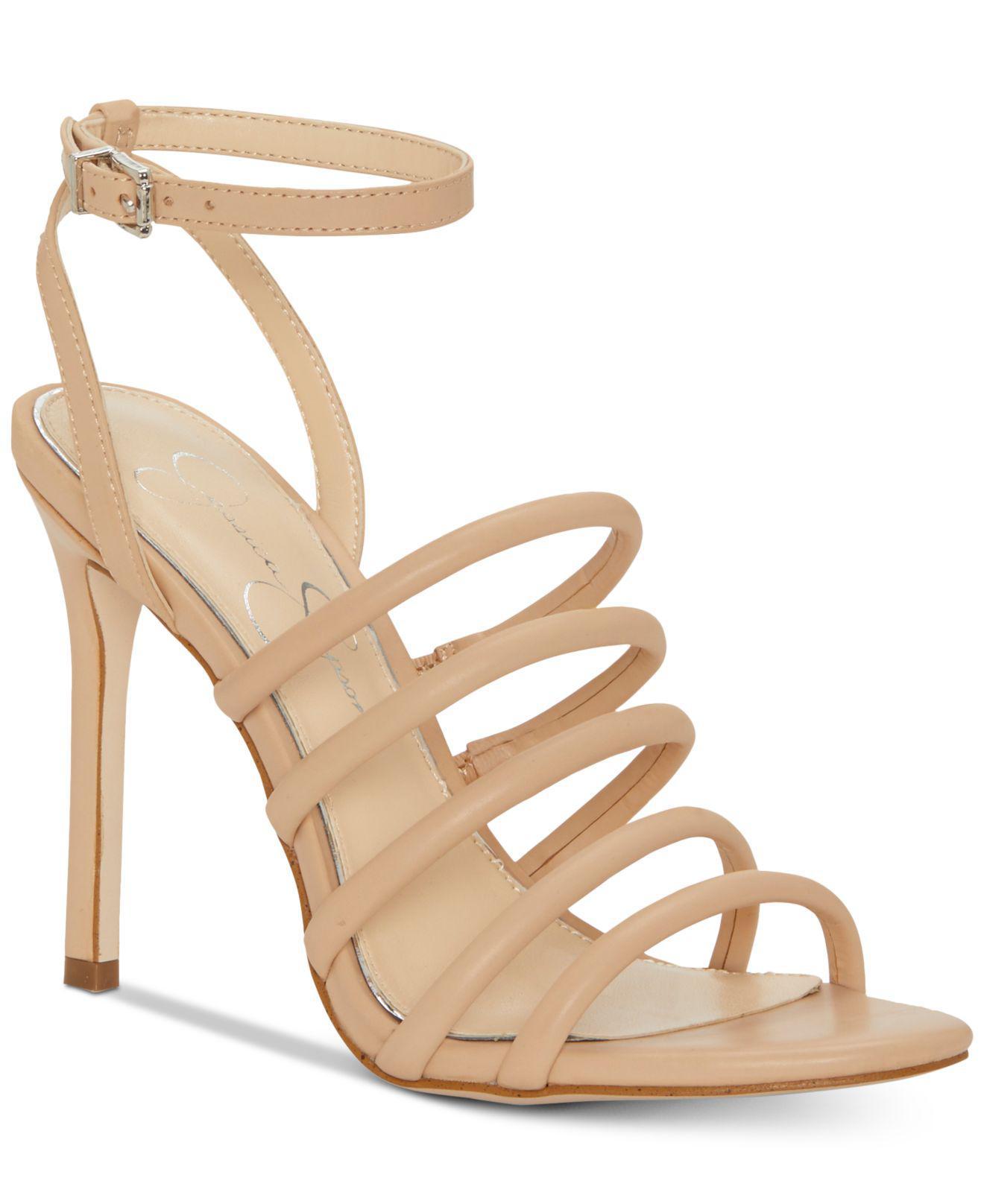 Jessica Simpson Joselle Strappy Sandals H3uduWj