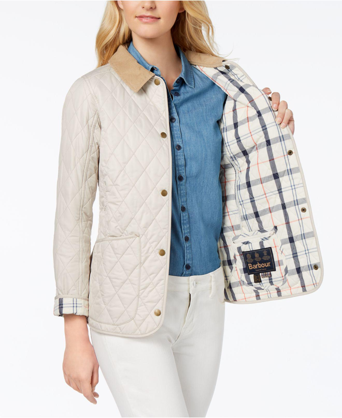 2b67373fd Barbour Multicolor Spring Annandale Quilted Jacket