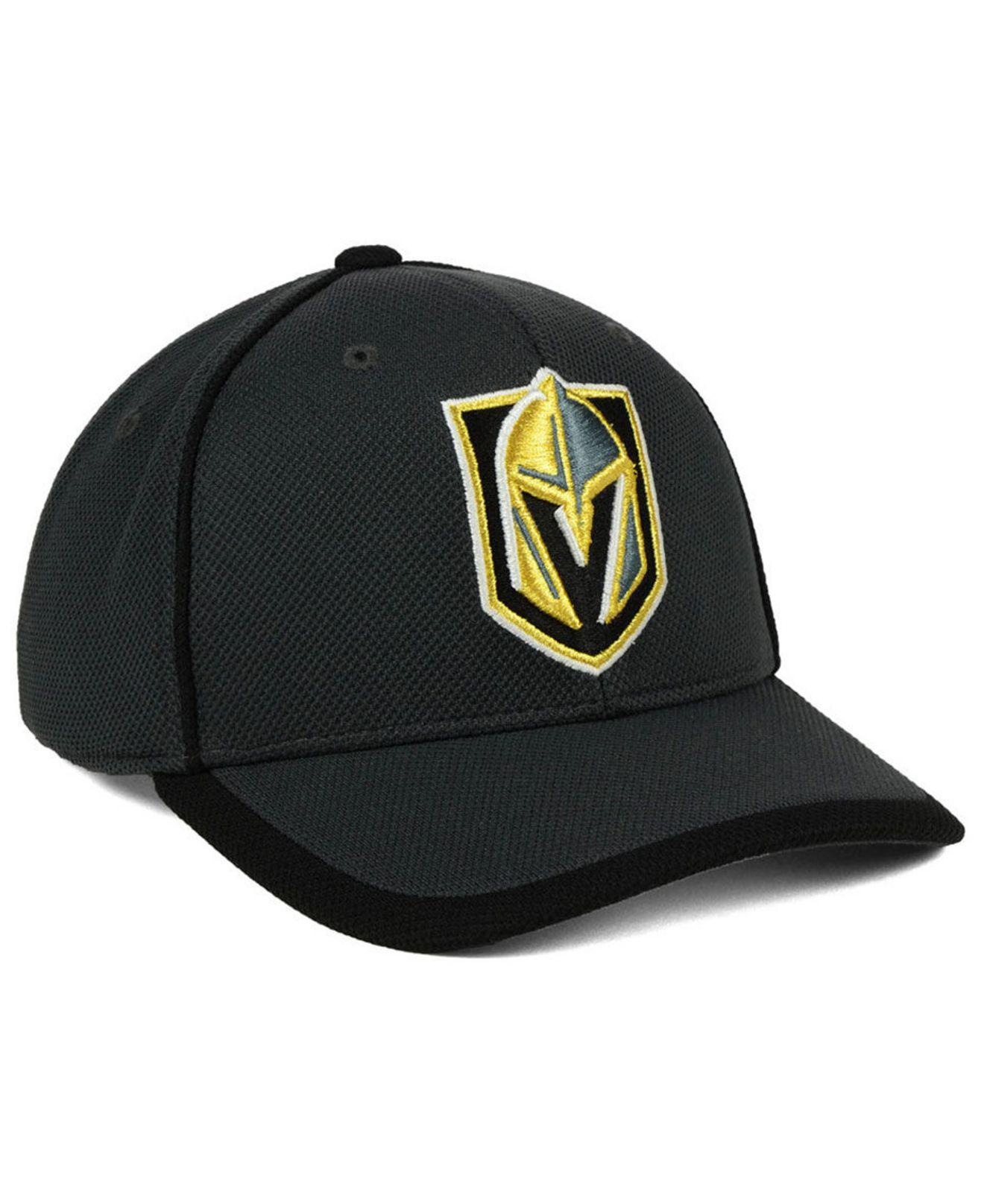 info for 281a9 98607 Lyst - adidas Vegas Golden Knights Clipper Adjustable Cap in Black ...