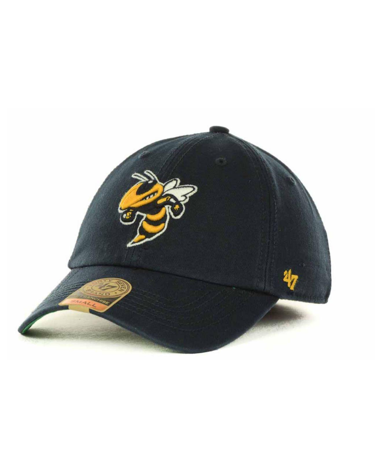buy online 2583c e7cf4 47 Brand. Men s Blue Georgia Tech Yellow Jackets Franchise Cap