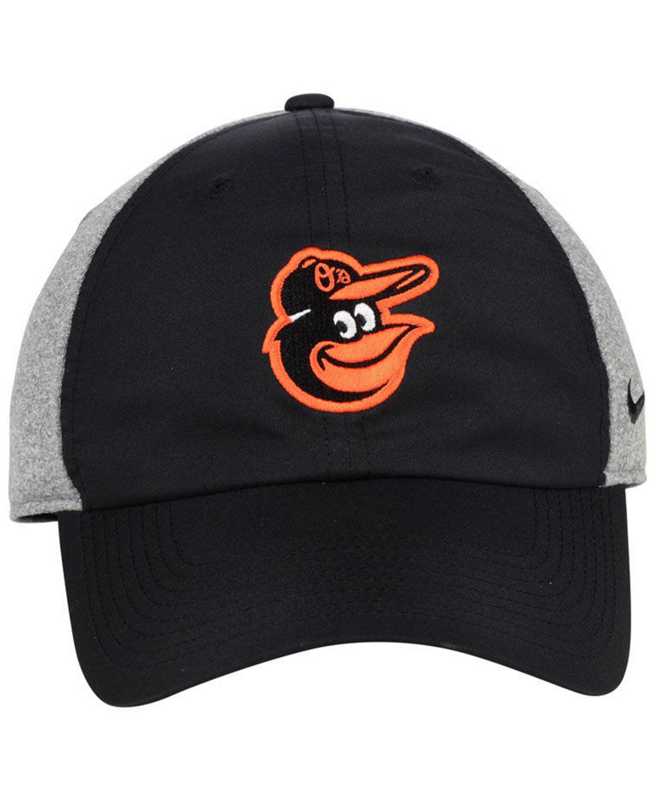 premium selection 48c71 9d174 norway lyst nike baltimore orioles new day legend cap in black for men  f8664 3f69c