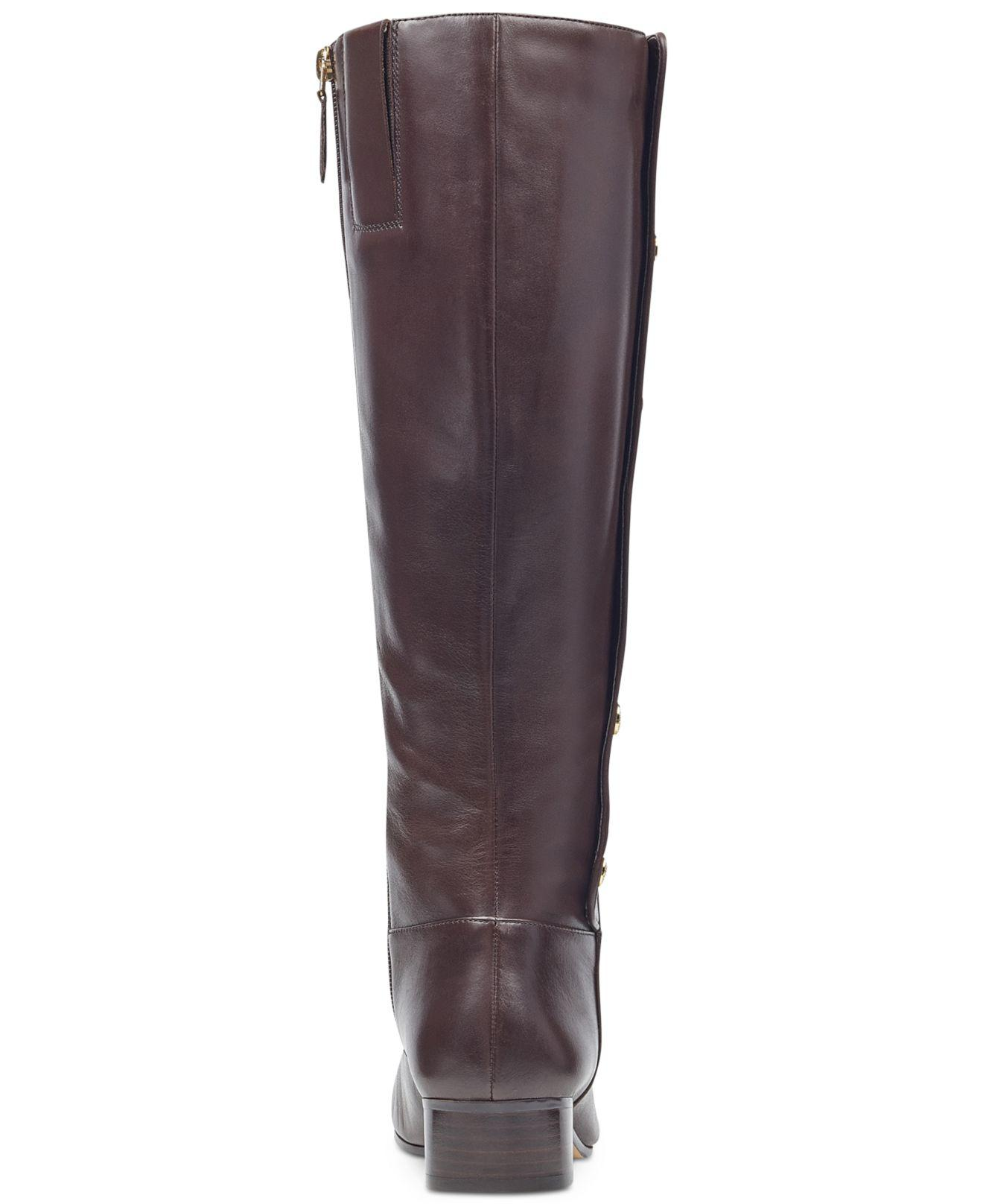 9cc47d46d10 Lyst - Nine West Oreyan Tall Boots in Brown