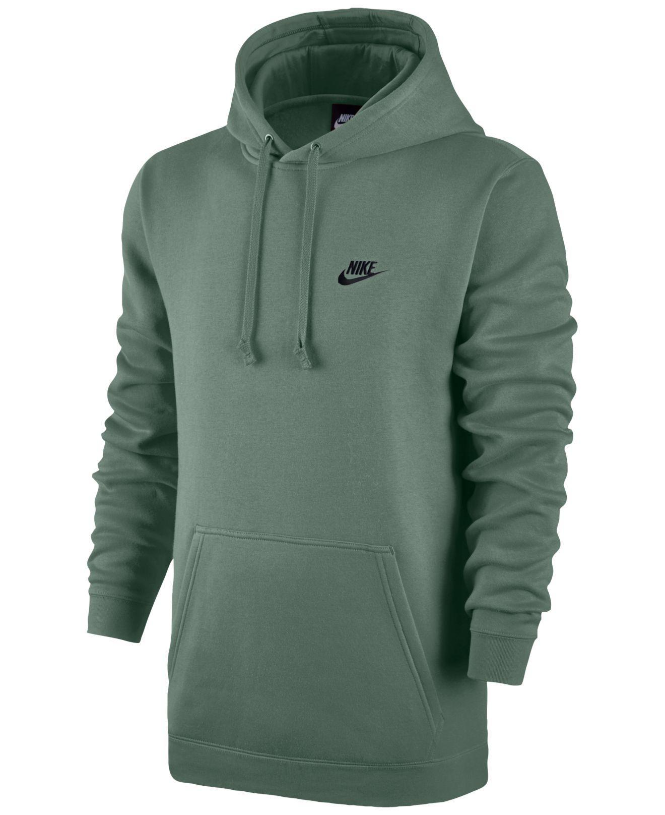 nike fleece green