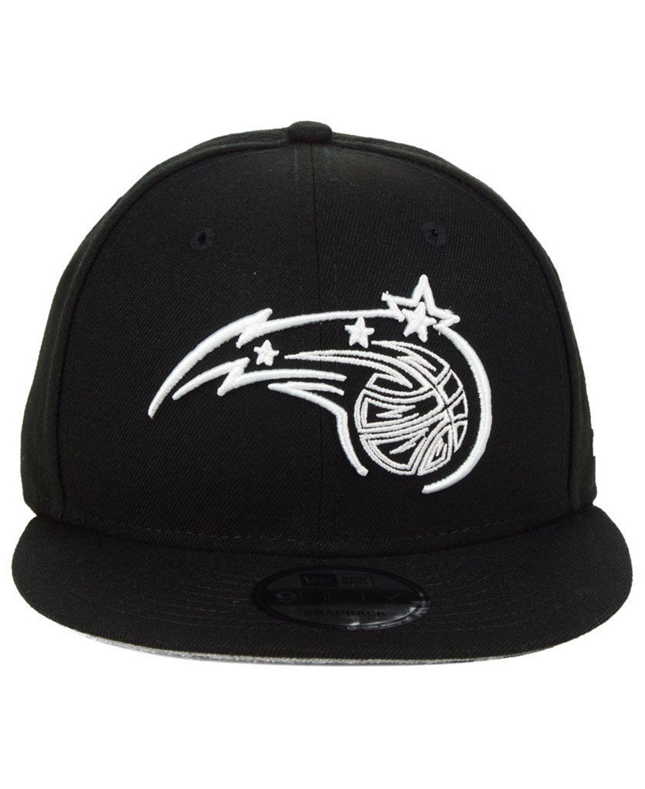 wholesale dealer d0828 e19a7 KTZ Orlando Magic Logo Trace 9fifty Snapback Cap in Black for Men - Lyst