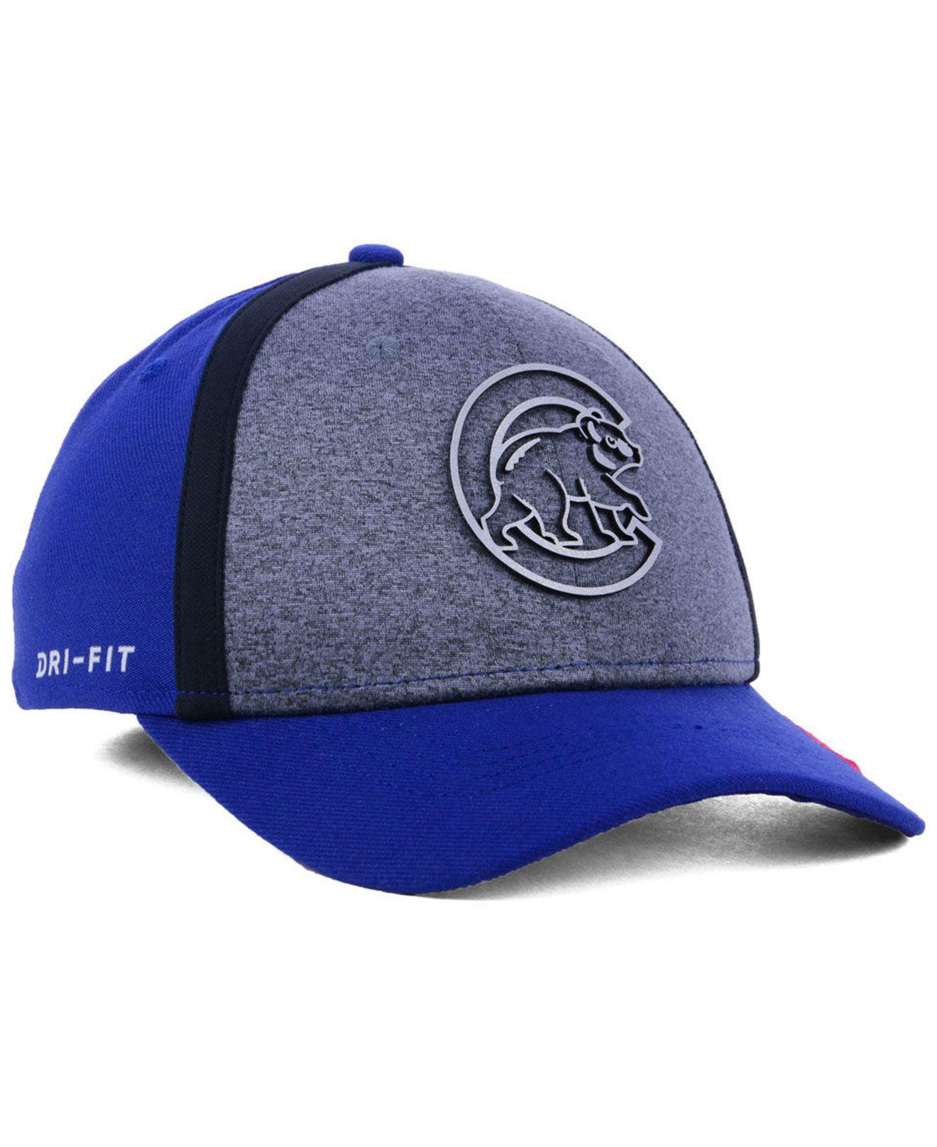 lace up in wholesale new appearance Nike Synthetic Chicago Cubs Team Color Reflective Swooshflex Cap ...