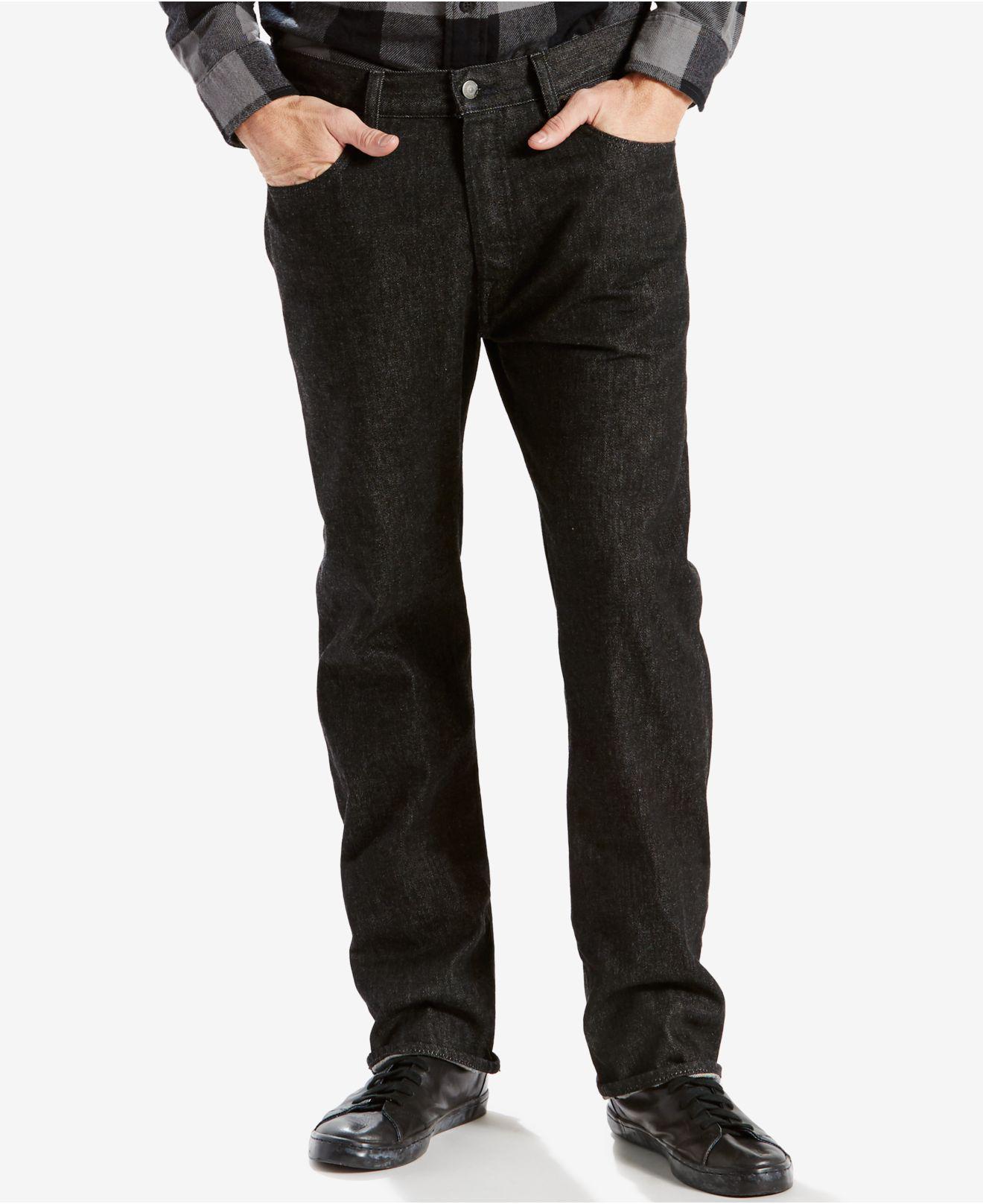 4c87ac0d Lyst - Levi's 501 Original-fit Jeans in Black for Men