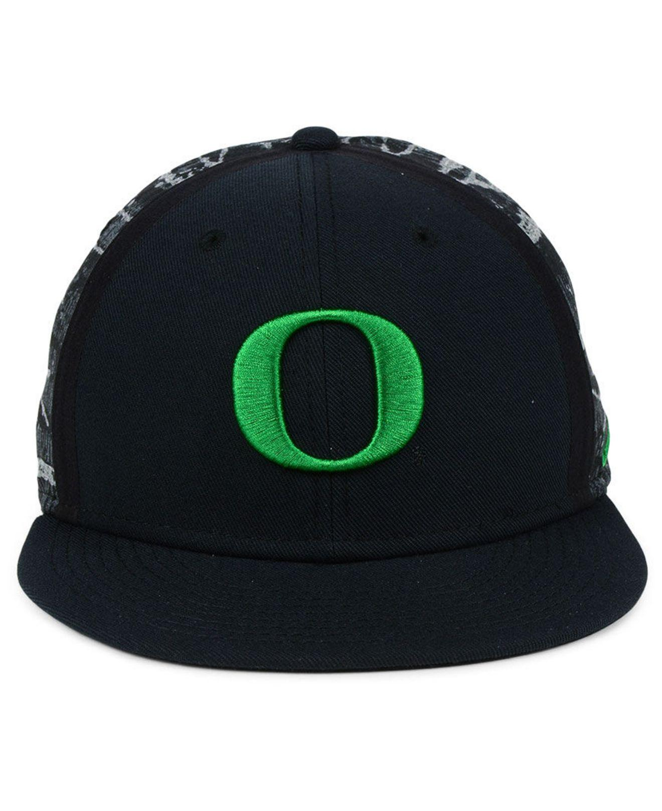 new concept 67aac 5f59b italy lyst nike oregon ducks dna true snapback cap in black for men save  32.0 f83b6