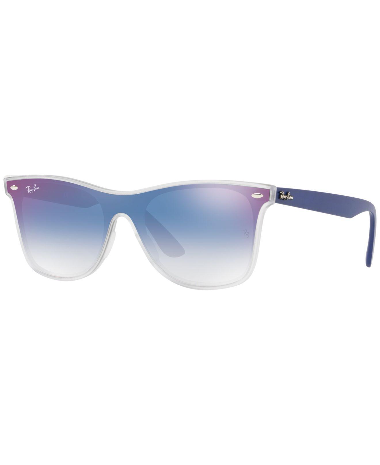 ec7bbe52c7 Ray-Ban. Women s Blue Sunglasses ...