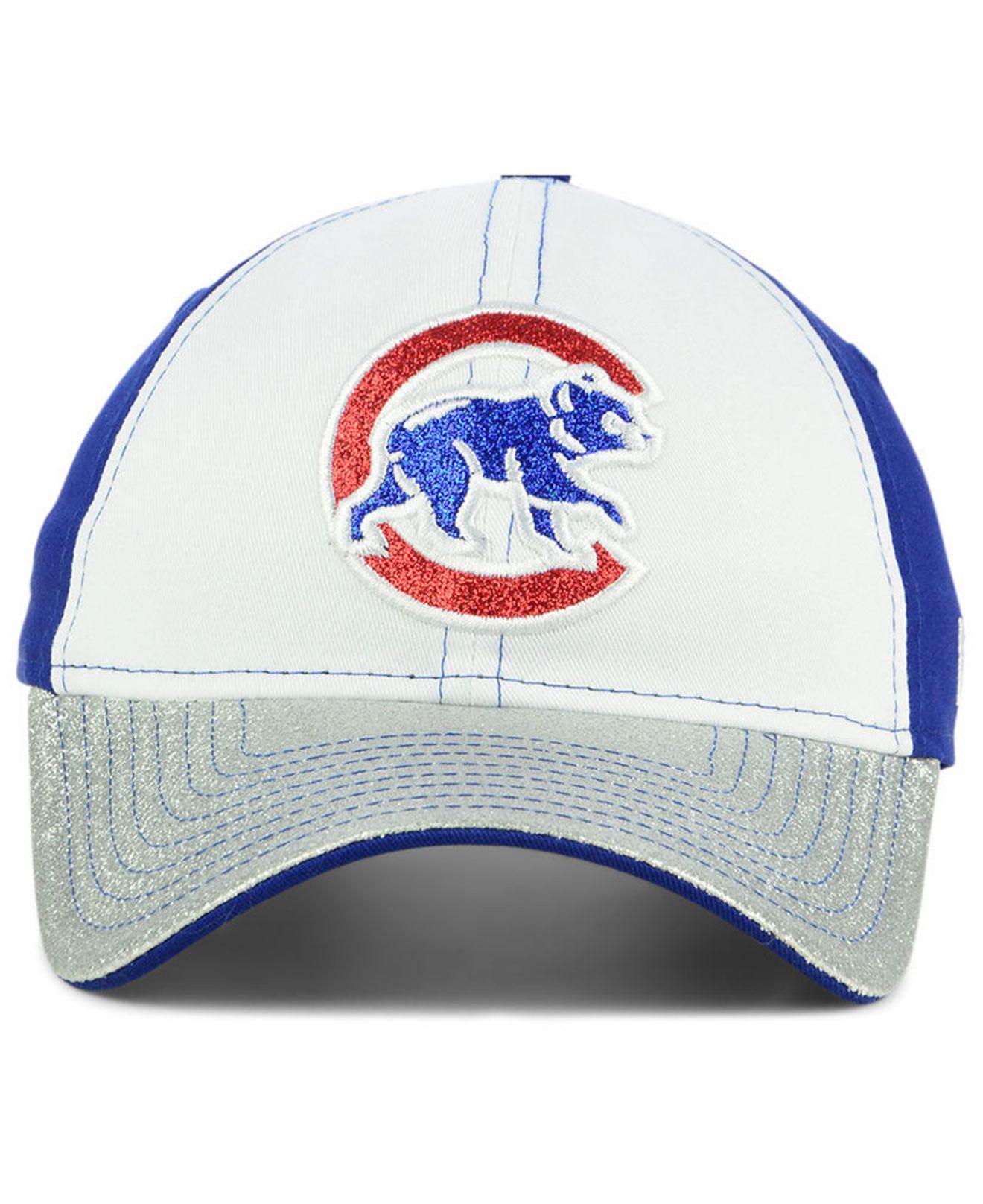 detailed look ec577 242ba ... official lyst ktz chicago cubs shimmer shine 9twenty cap ff1db e5514