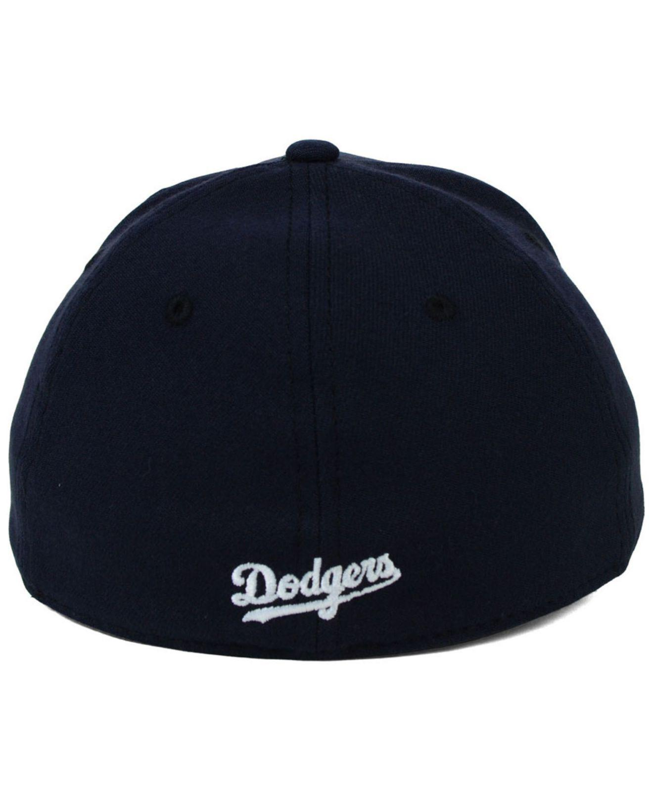 huge sale latest fashion hot product KTZ Synthetic Los Angeles Dodgers Fashion 39thirty Cap in Navy ...