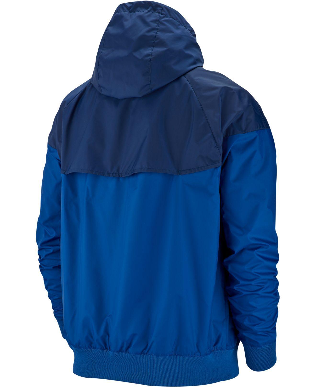 5f9a08caa6 Lyst - Nike Sportswear Windrunner Jacket in Blue for Men