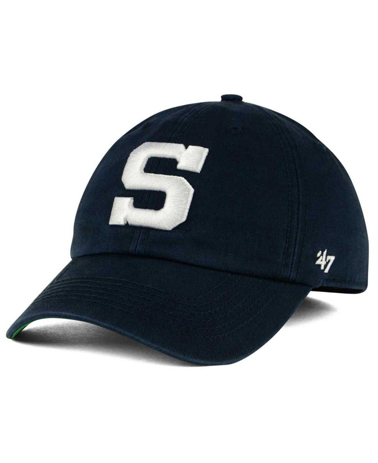 2505e988ab6a8 Lyst - 47 Brand Penn State Nittany Lions Franchise Cap in Blue for Men
