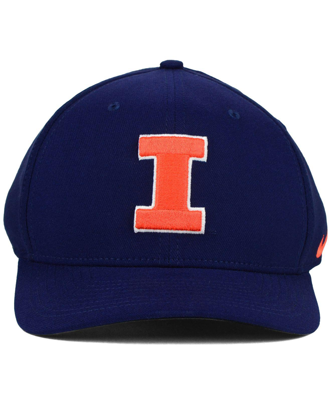 official photos 3421a 51814 Lyst - Nike Illinois Fighting Illini Classic Swoosh Cap in Blue for Men