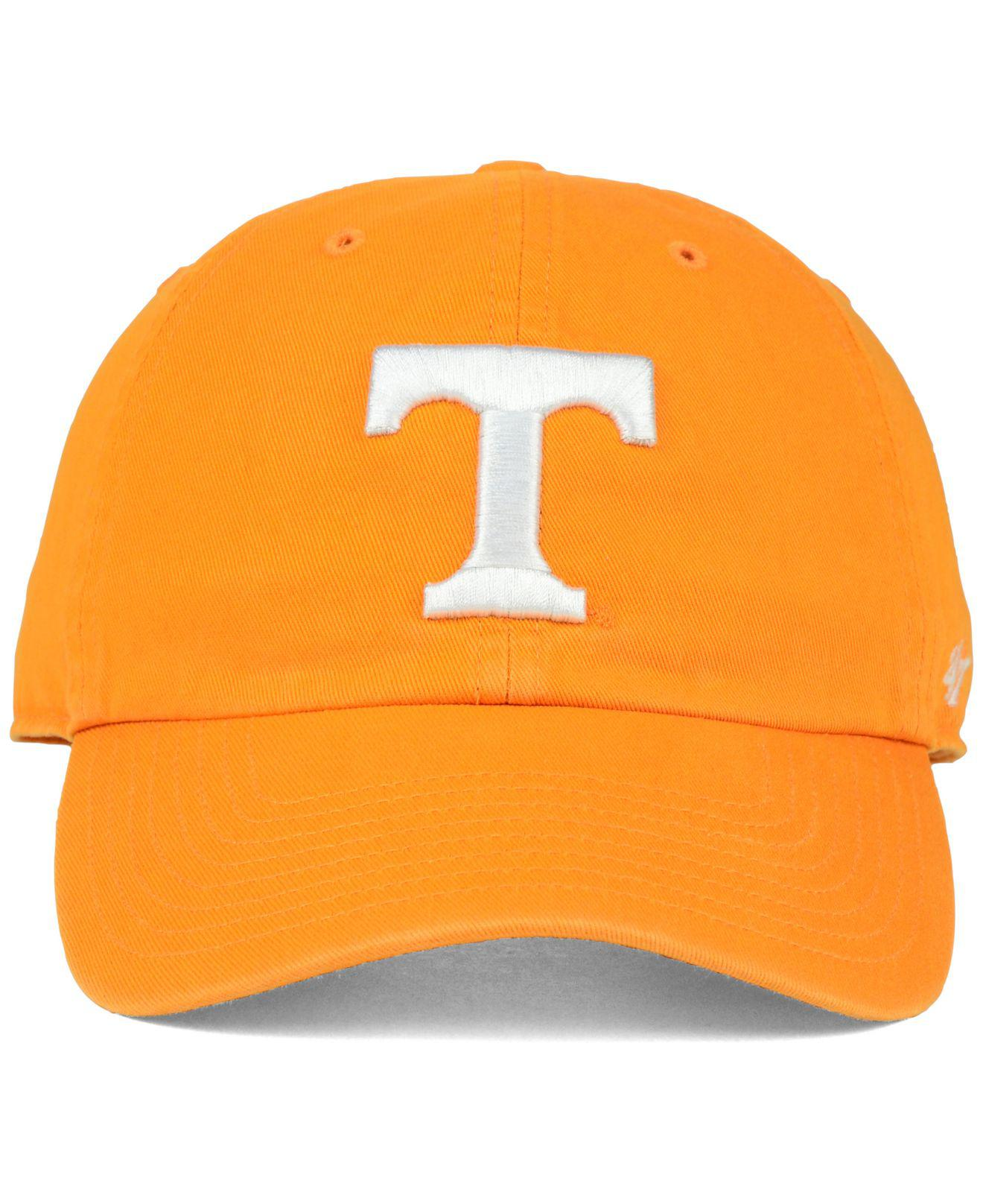 pretty nice 8cbc2 ec9c9 Lyst - 47 Brand Tennessee Volunteers Clean Up Cap in Orange - Save 30%