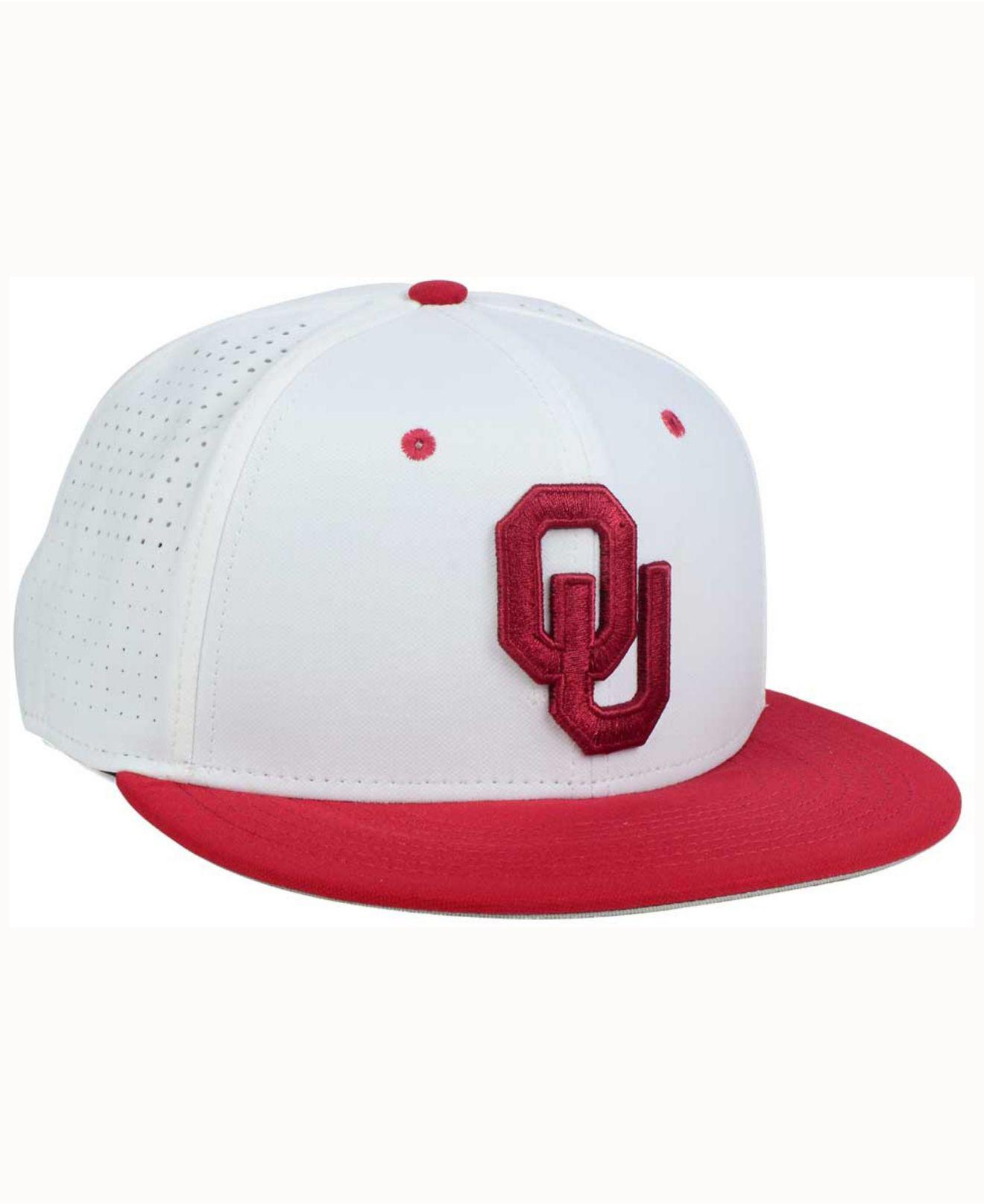 1229bbd1e59 Lyst - Nike Oklahoma Sooners True Vapor Fitted Cap in Red for Men