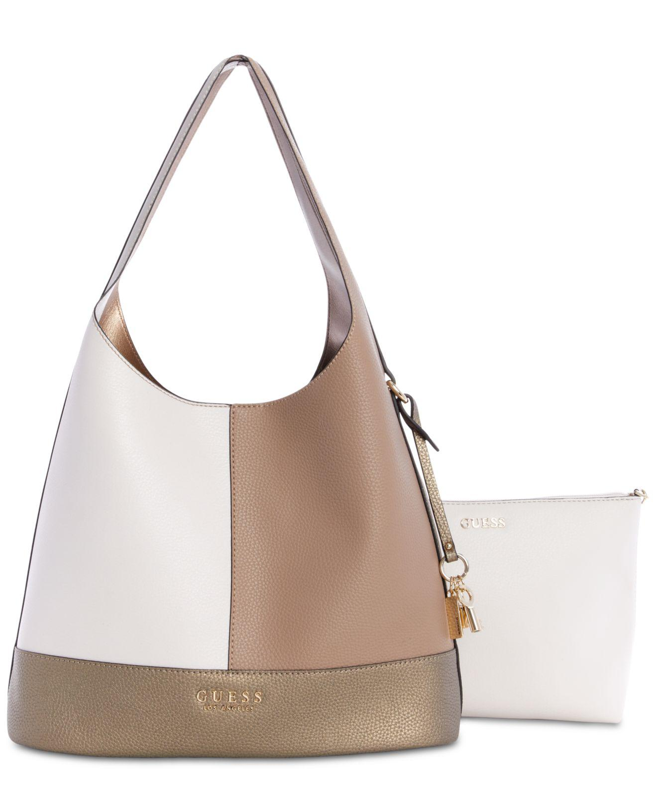 d749fb3af66e Lyst - Guess Heidi 2-in-1 Hobo