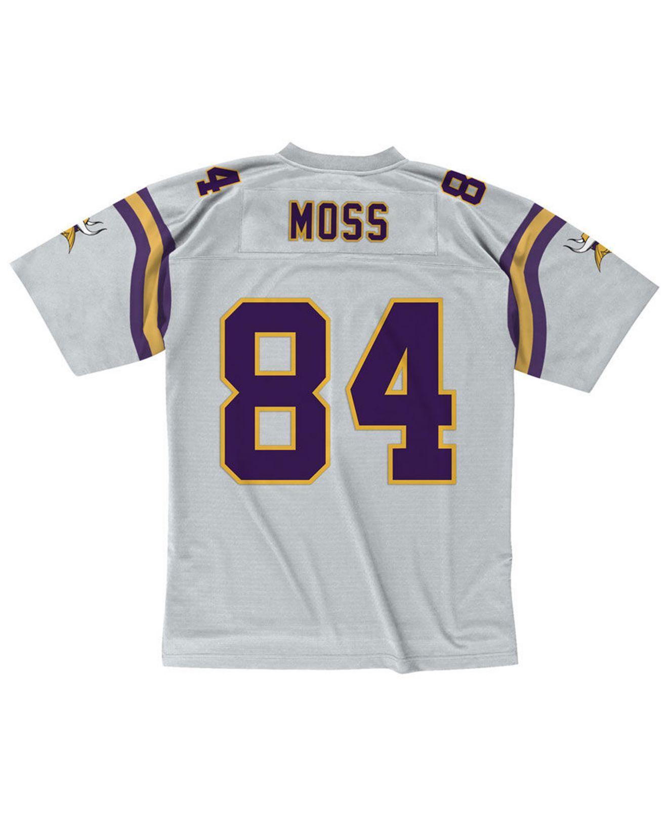 Randy Moss Minnesota Vikings 100 Year Platinum Jersey