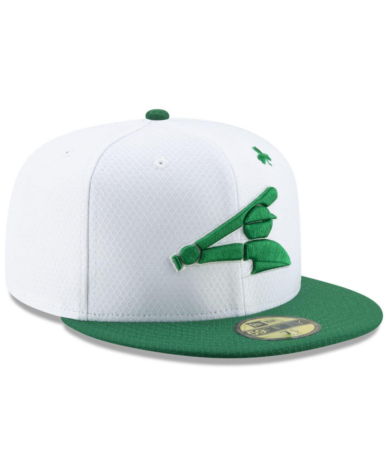 purchase cheap 038a2 0a662 KTZ - Chicago White Sox St. Pattys Day 59fifty-fitted Cap for Men -. View  fullscreen