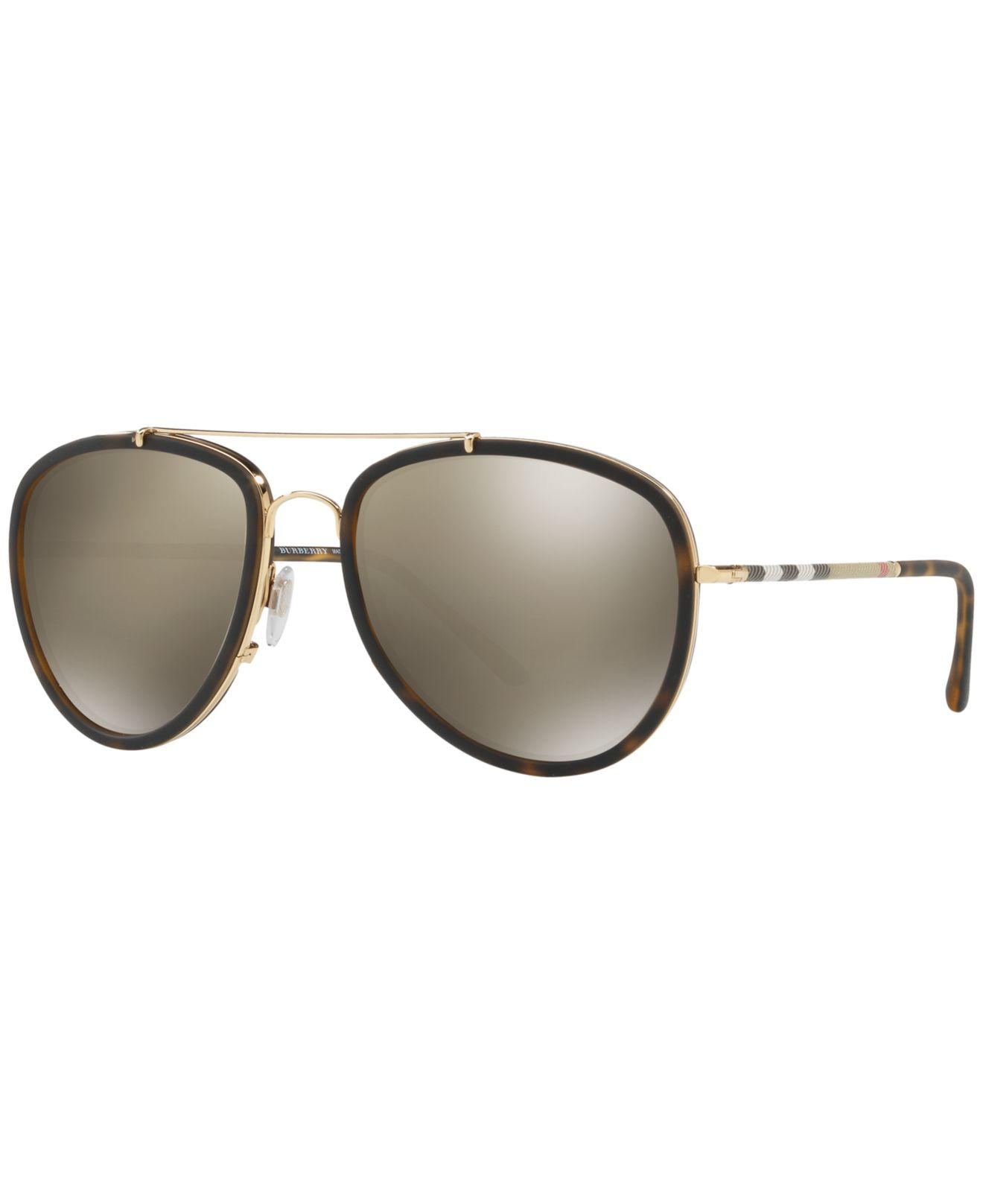 10973dab7fb Burberry. Men s Brown Sunglasses ...