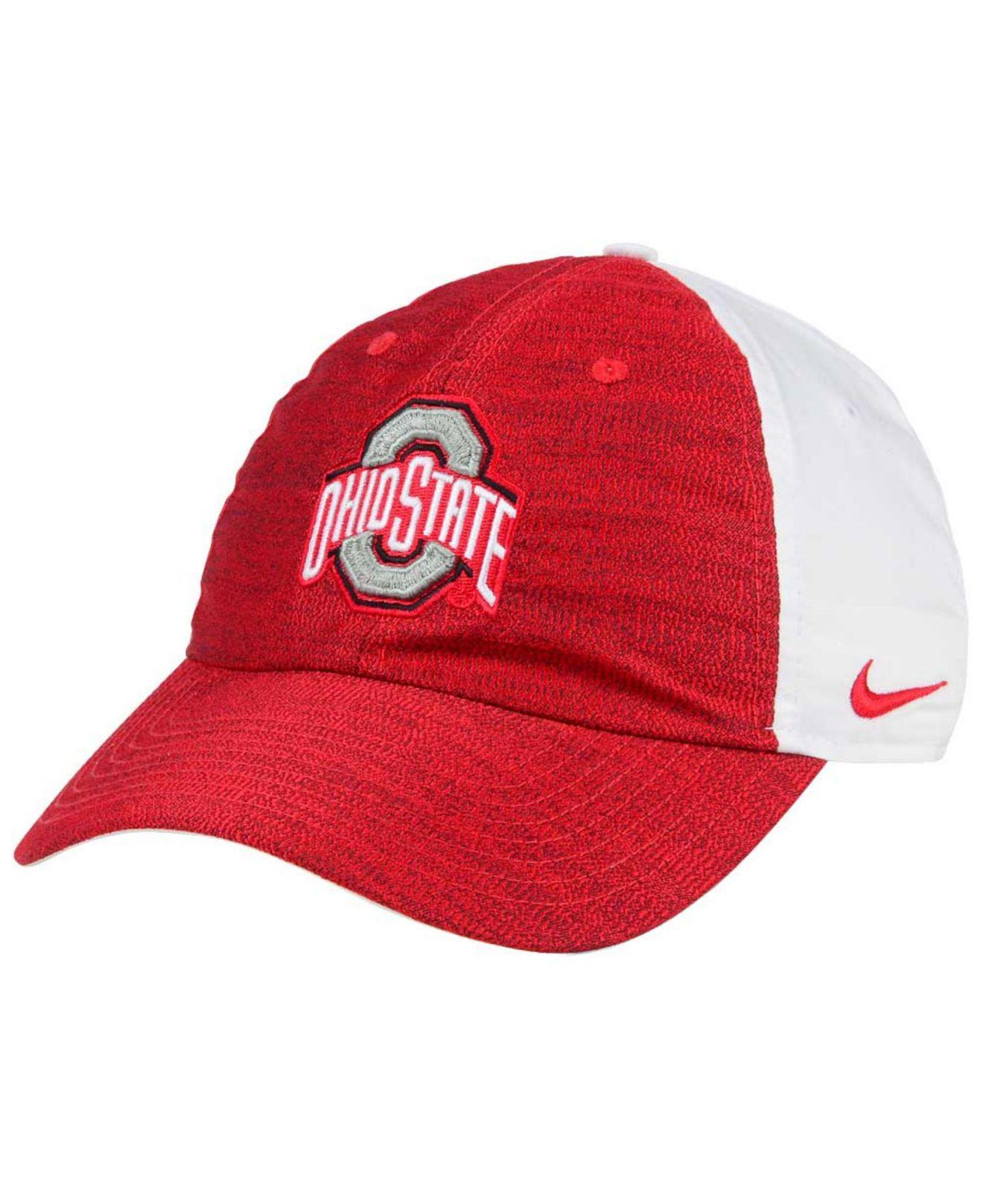 39025b4a3a1f8 ... new product c09d7 407de Lyst - Nike Women s Seasonal H86 Cap in Red