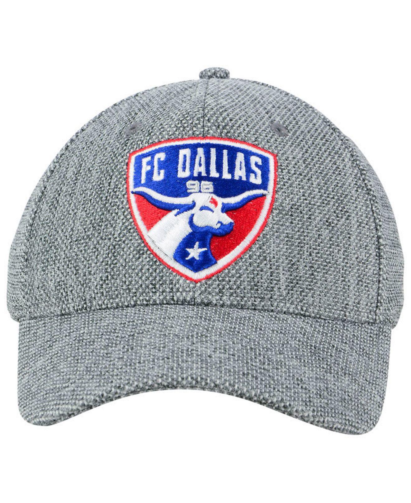 timeless design 17e7b fc4db adidas Fc Dallas Penalty Kick Flex Cap in Gray for Men - Lyst