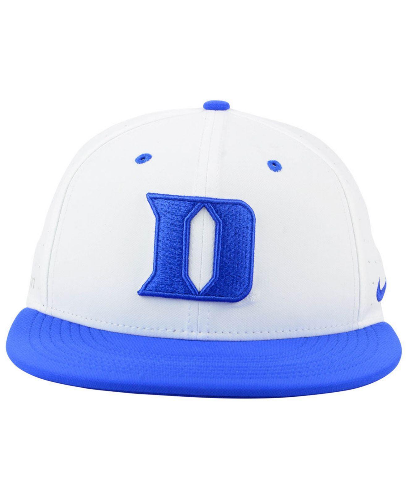 brand new ad751 ca974 Lyst - Nike Duke Blue Devils Aerobill True Fitted Baseball Cap in Blue for  Men
