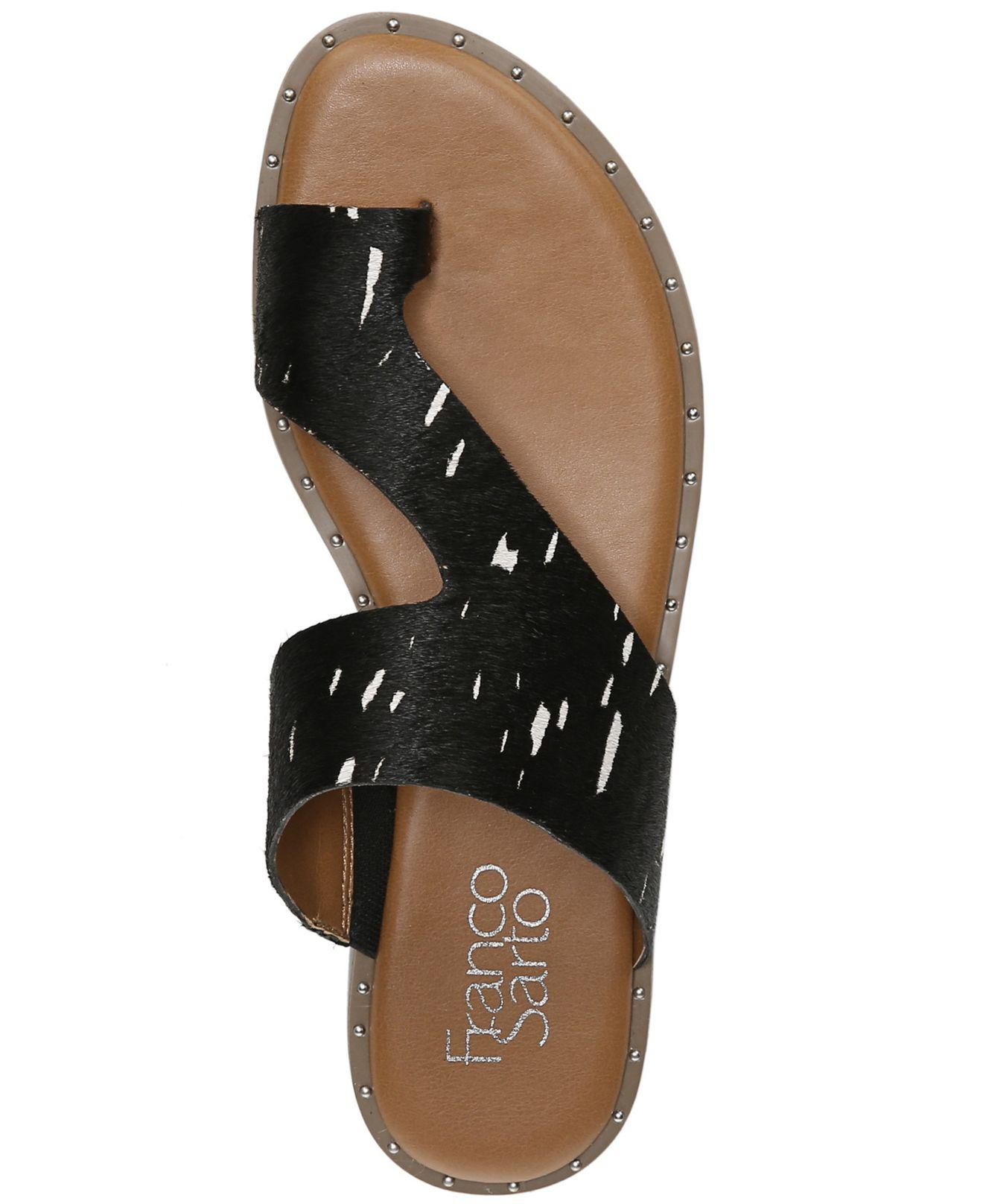 Leather Ginny Toe Thong Sandals