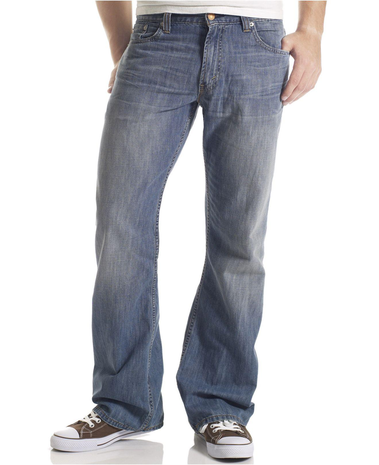 f3350c9ada Levi s 527 Slim Bootcut Fit Jeans in Blue for Men - Lyst