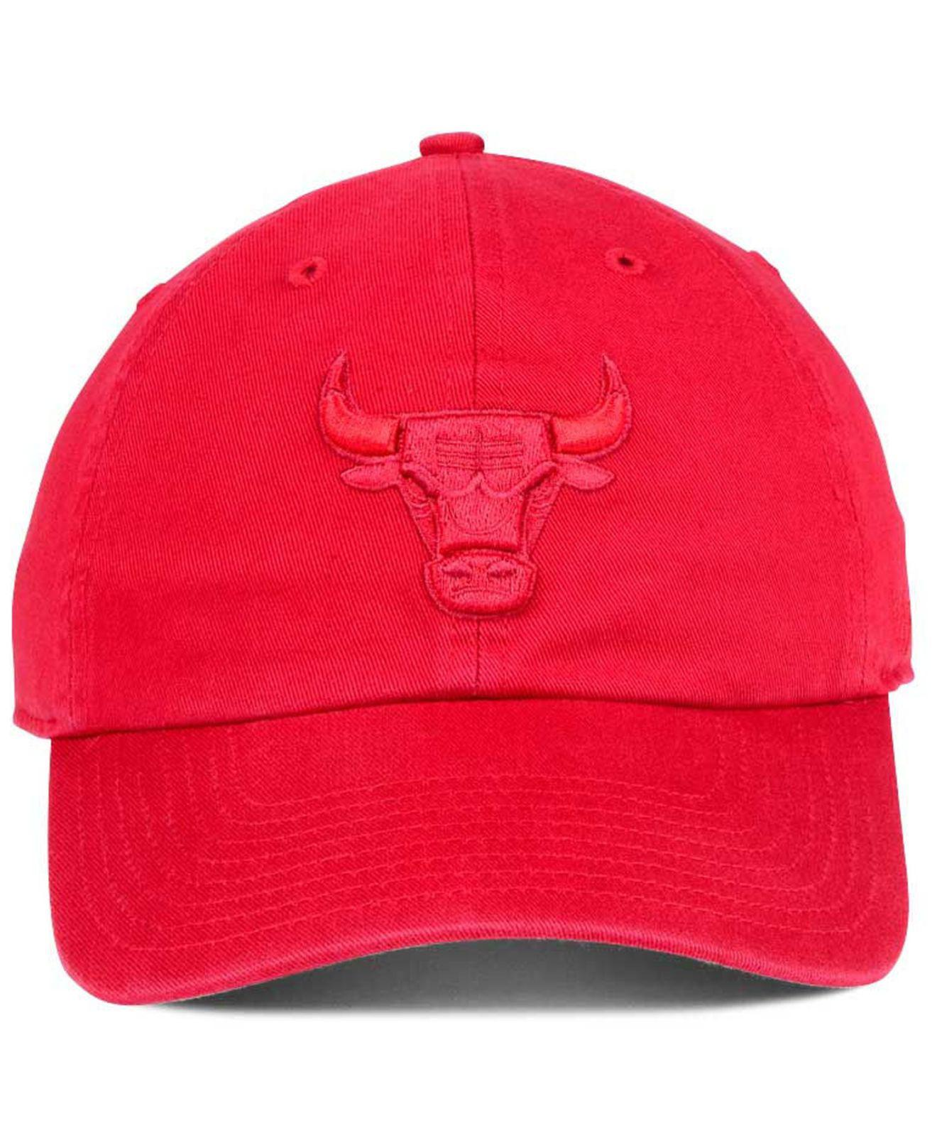 size 40 e10fd d4b6c Lyst - 47 Brand Triple Rush Clean Up Cap in Red for Men