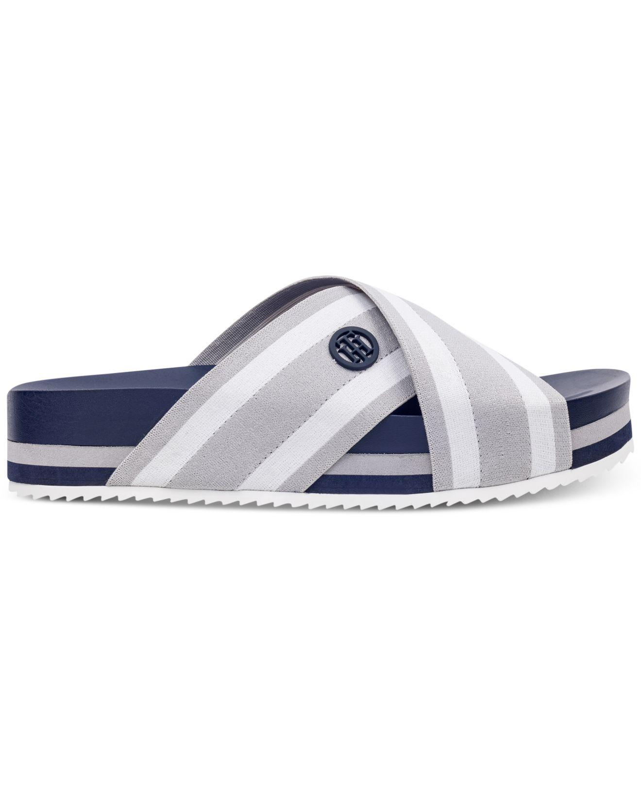 49538e247 Lyst - Tommy Hilfiger Blysse Flatform Sandals in Blue for Men