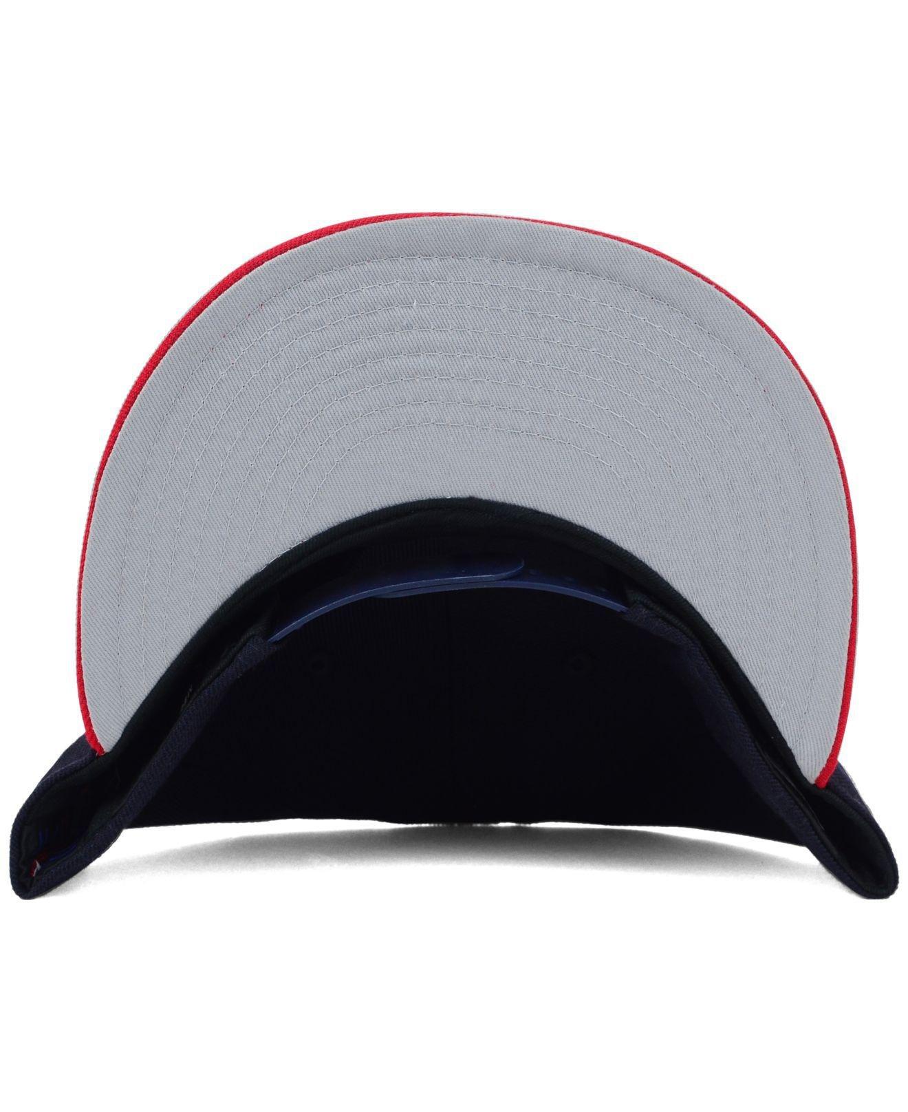 21d4c666f88 ... Atlanta Braves Mlb 2 Tone Link 9fifty Snapback Cap for Men - Lyst. View  fullscreen