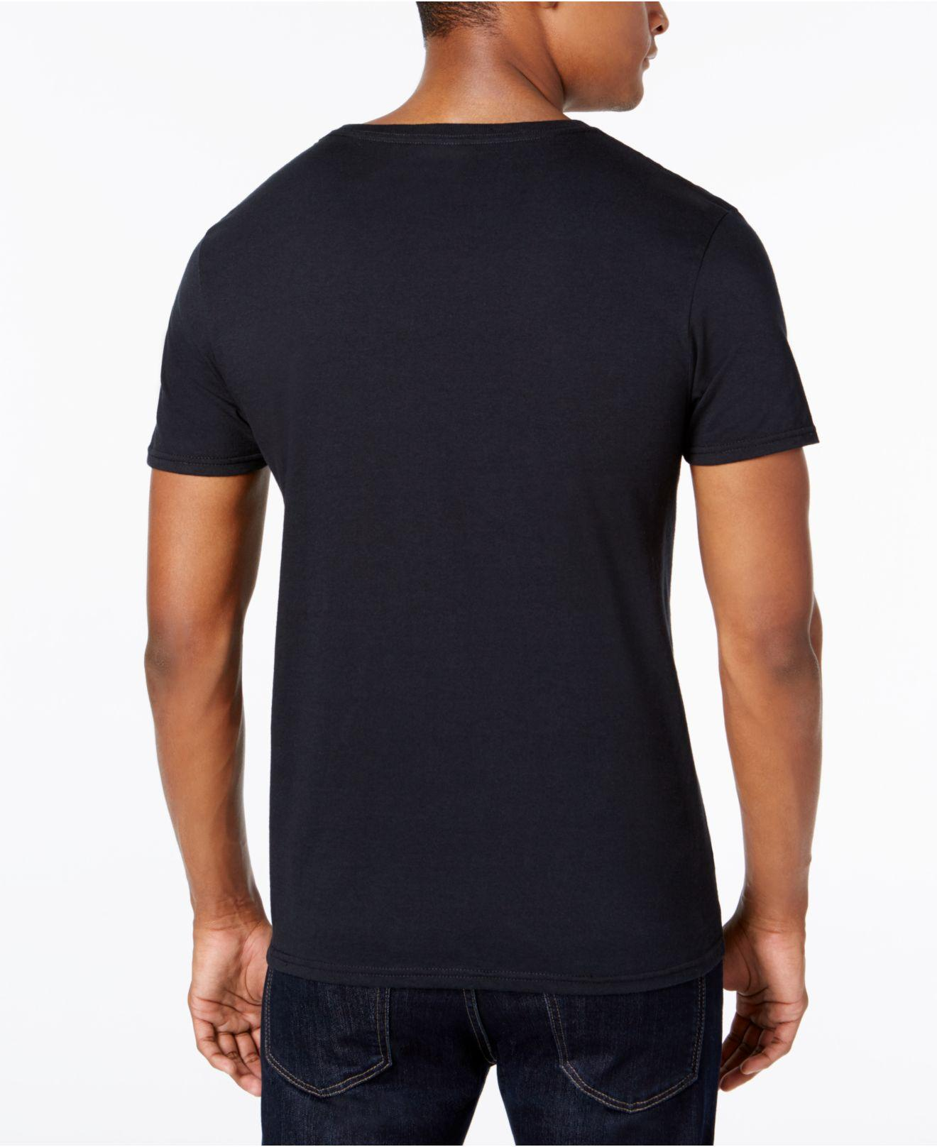 lyst kenneth cole reaction mens vneck logo graphic t