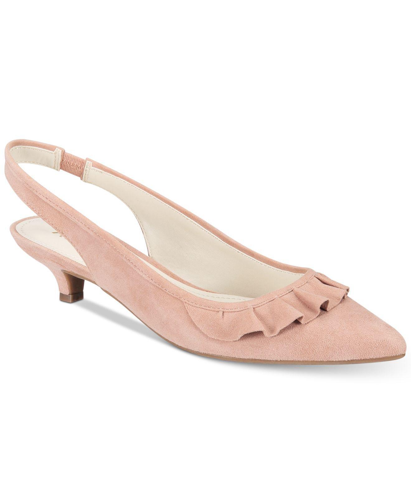 anne klein pink heels