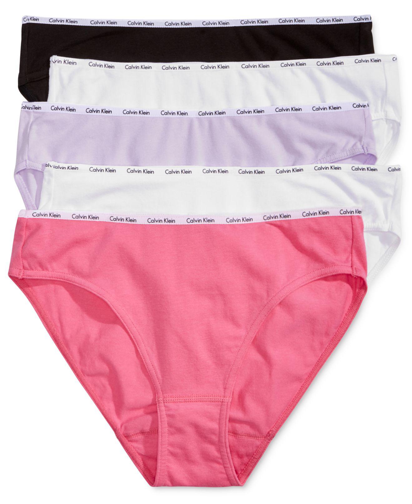 d659a7c54085 Calvin Klein - Pink Signature Bikinis - Lyst. View fullscreen