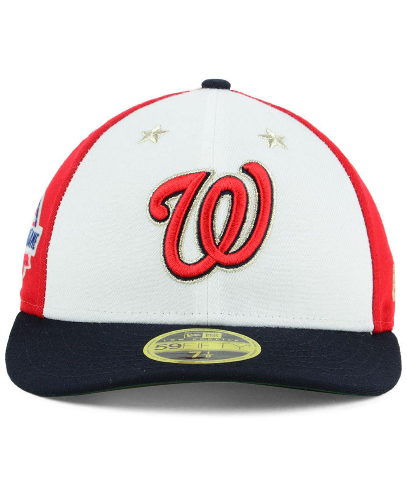 Lyst - Ktz Washington Nationals All Star Game Patch Low Profile 59fifty  Fitted Cap for Men 0338255b36fd