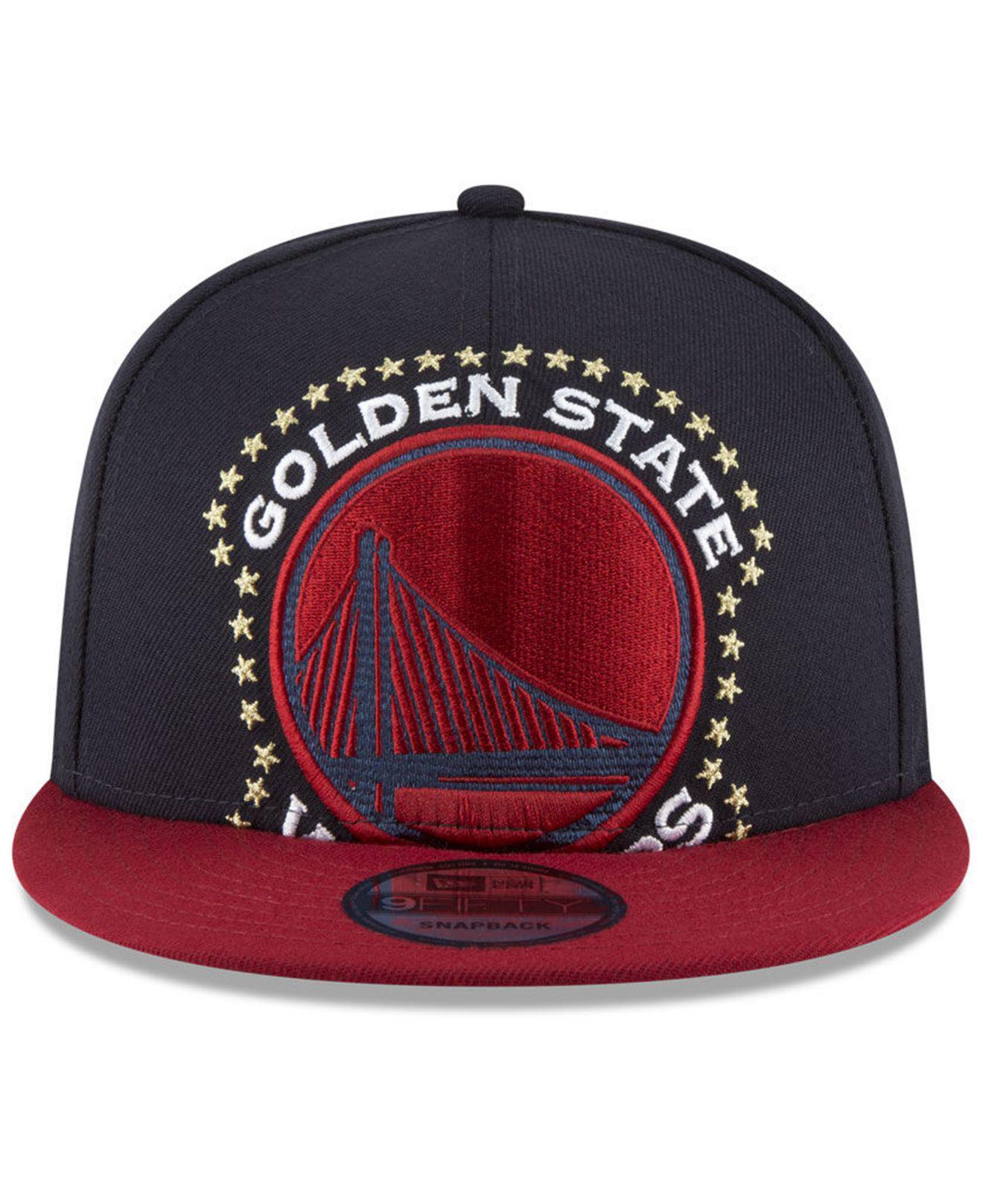 558501c4118f23 order lyst ktz golden state warriors xl americana 9fifty snapback cap in  blue for men 57766