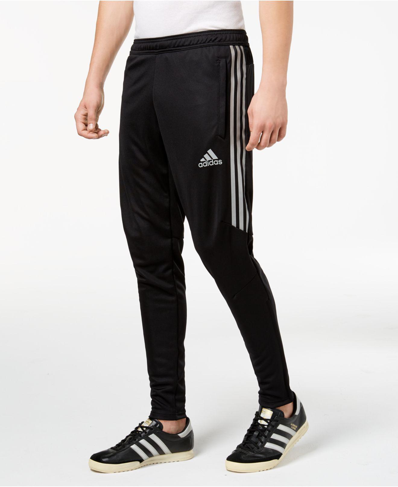 adidas. Black Men's Tiro Metallic Soccer Pants