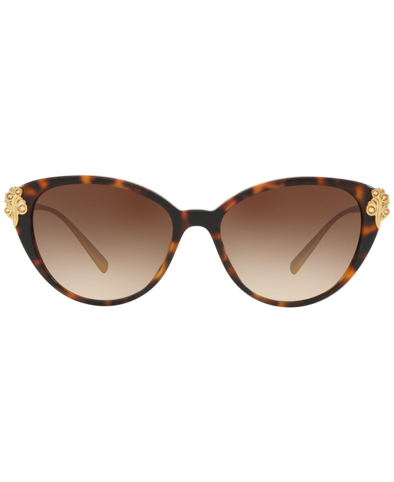 5267//13 Sunglasses Versace BAROCCOMANIA VE 4351B Havana//Brown Shaded