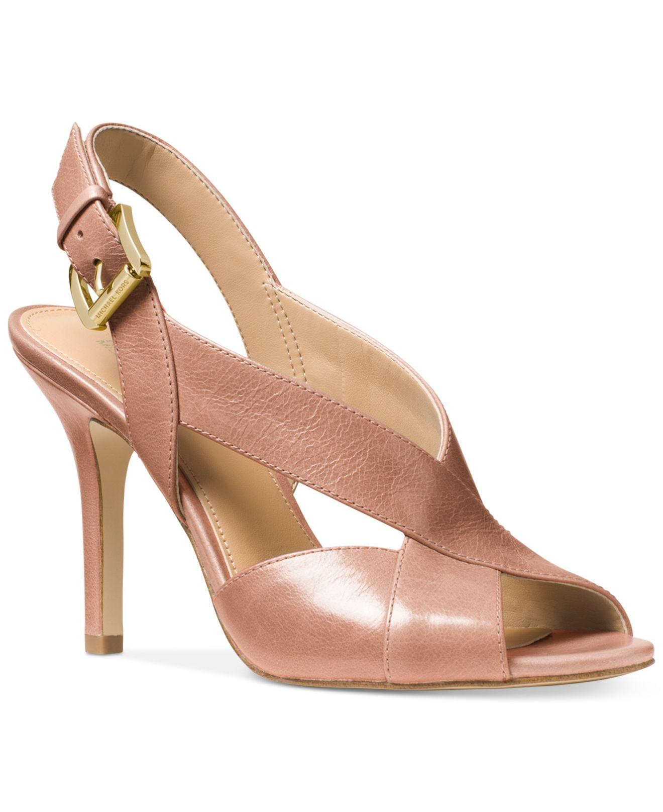 Macys Michael Kors Shoes Heels