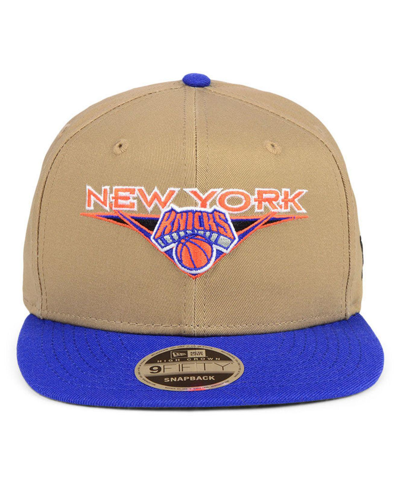 the latest 59743 35e93 Lyst - KTZ New York Knicks Jack Knife 9fifty Snapback Cap in Blue for Men