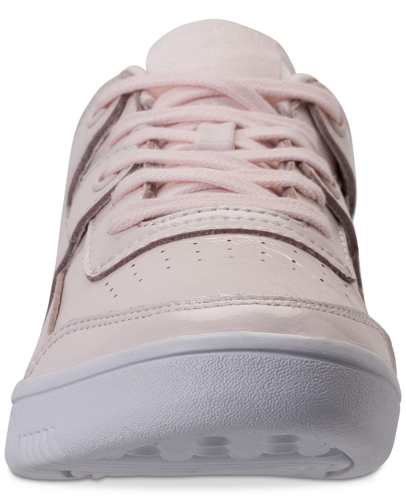 d03d4c7bb76bf Lyst - Reebok Workout Plus Iridescent Casual Sneakers From Finish Line
