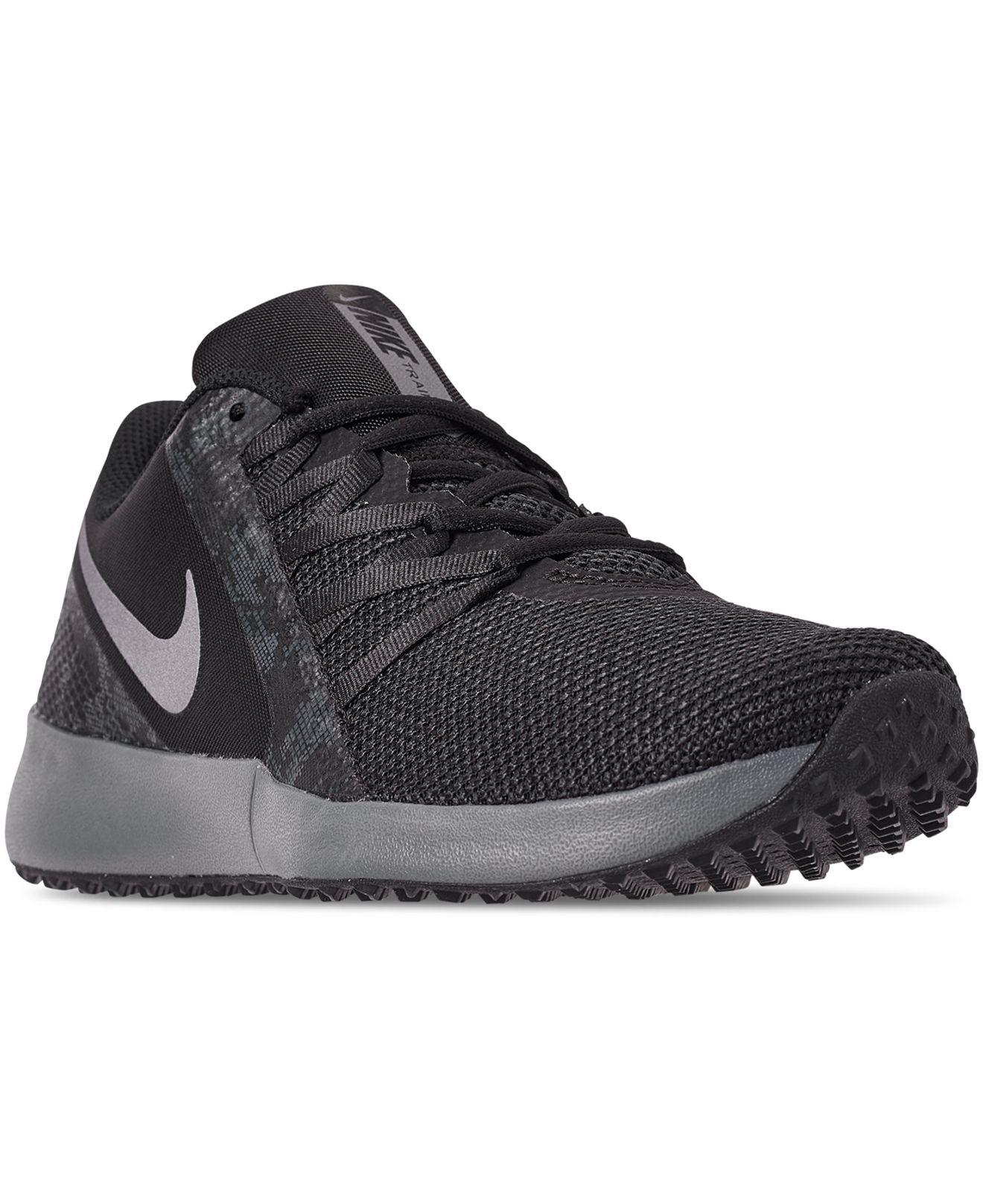 36cae031295 nike -BLACKMTLC-COOL-GREY-ANTH-Varsity-Compete-Camo-Training-Sneakers-From-Finish-Line.jpeg