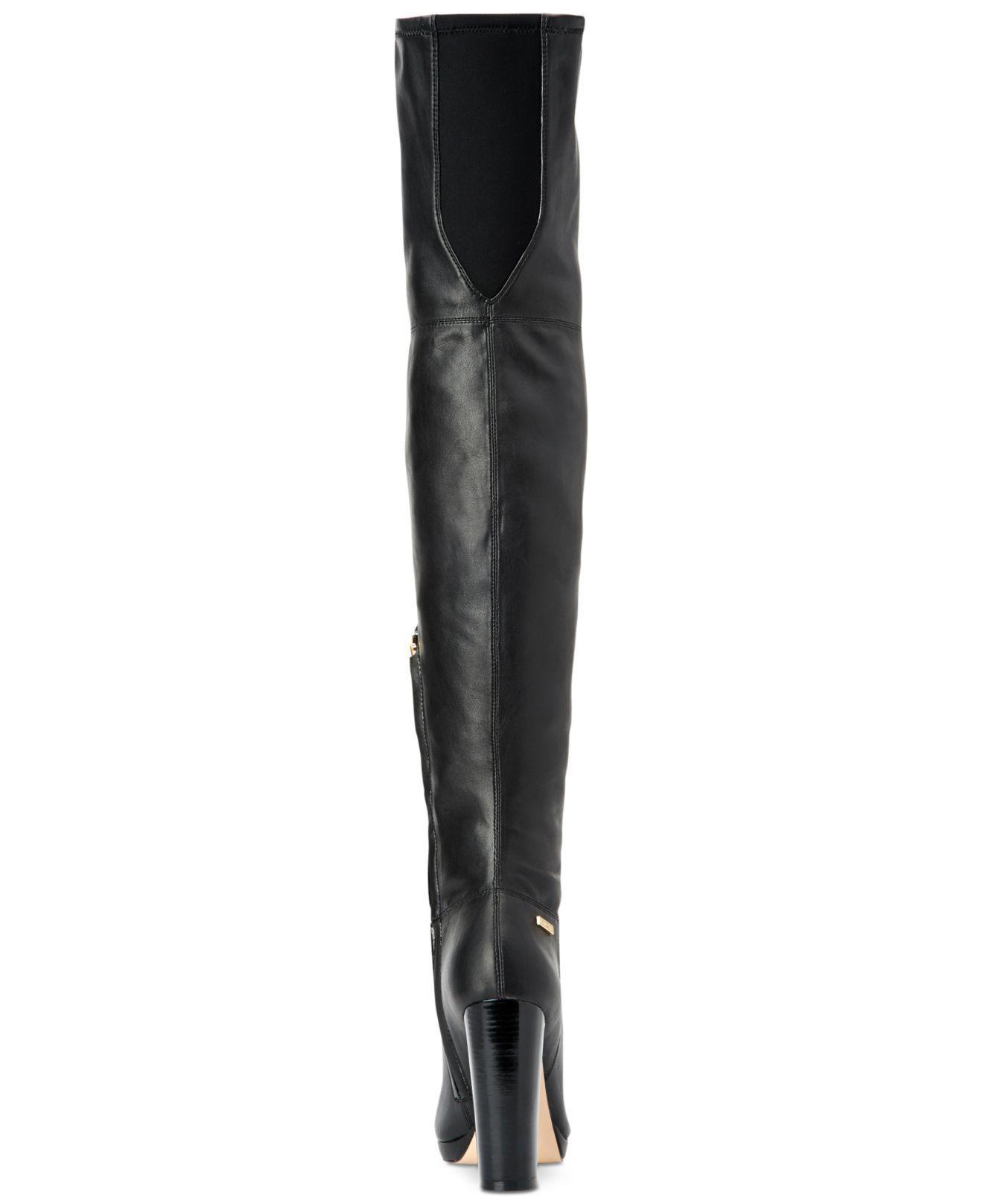 b7615681540 Lyst - Calvin Klein Women s Pammie Boots in Black