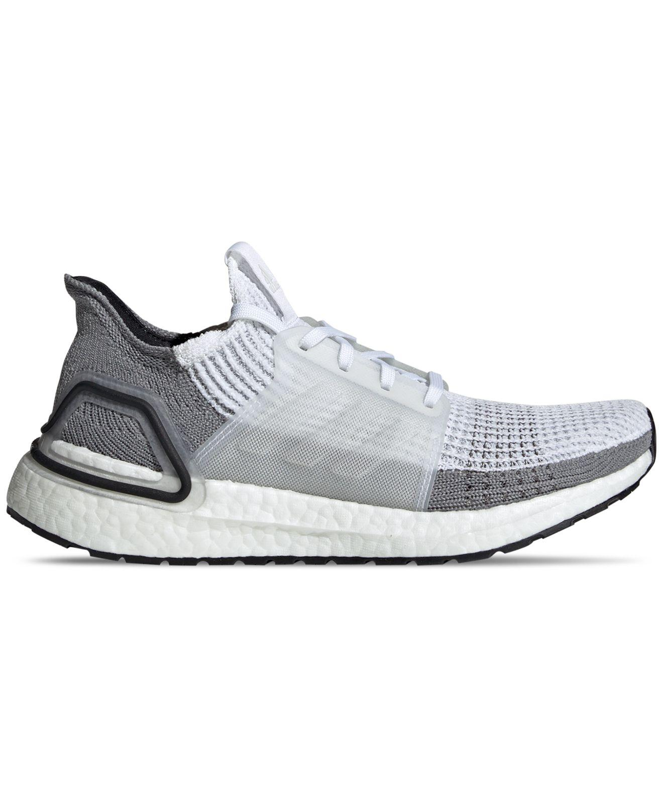 c826a94beccf2 Lyst - adidas Ultraboost 19 Running Sneakers From Finish Line in White