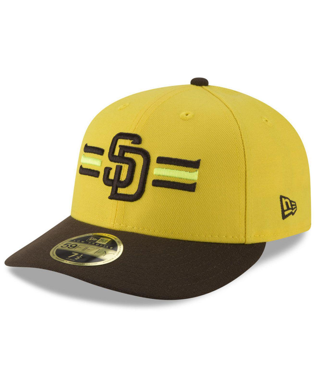 quality design 74fc6 9d6a4 ... release date where to buy ktz. mens yellow san diego padres players  weekend low profile