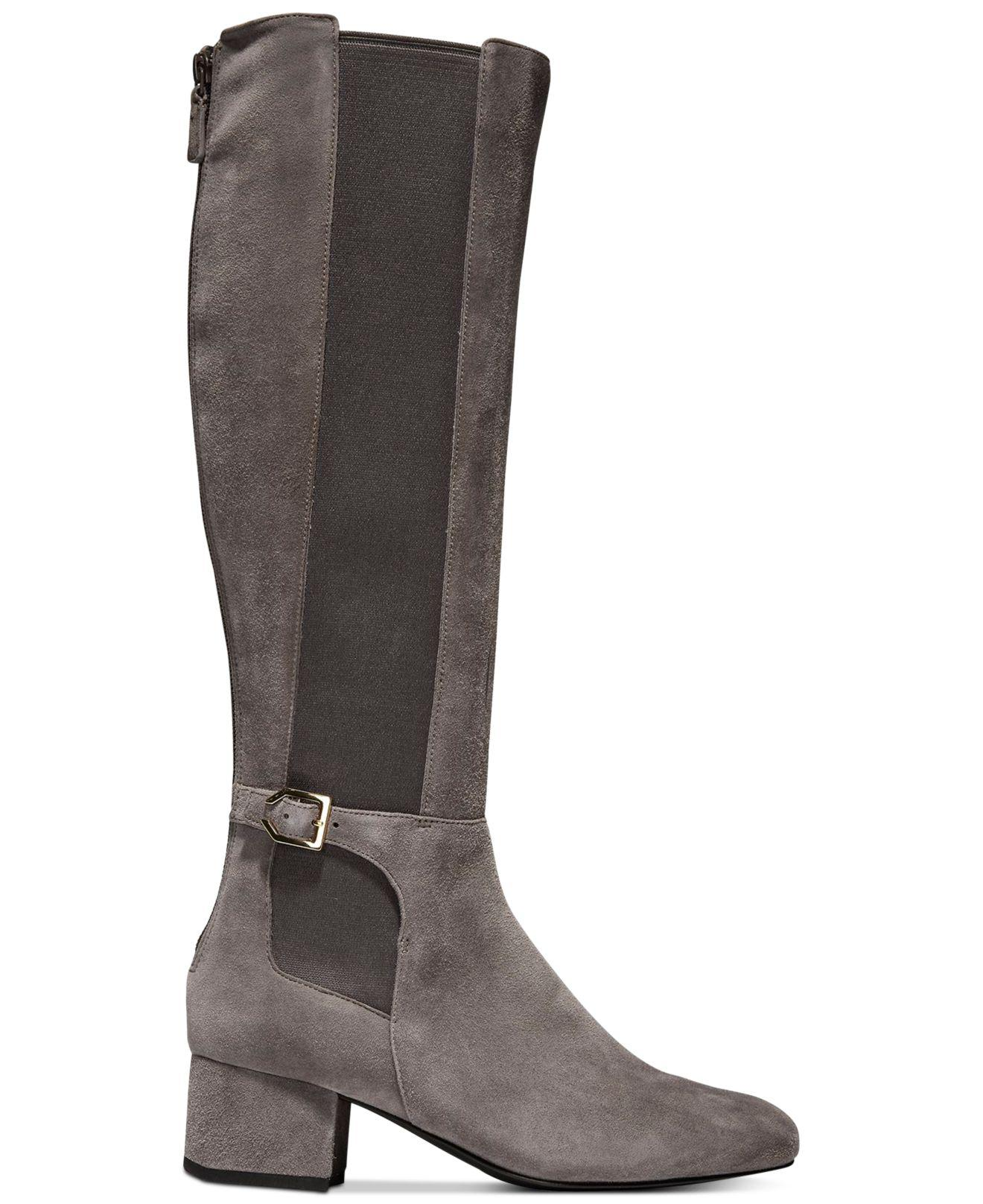 8829b82d2cf Lyst - Cole Haan Avani Stretch Boots - Save 61.666666666666664%