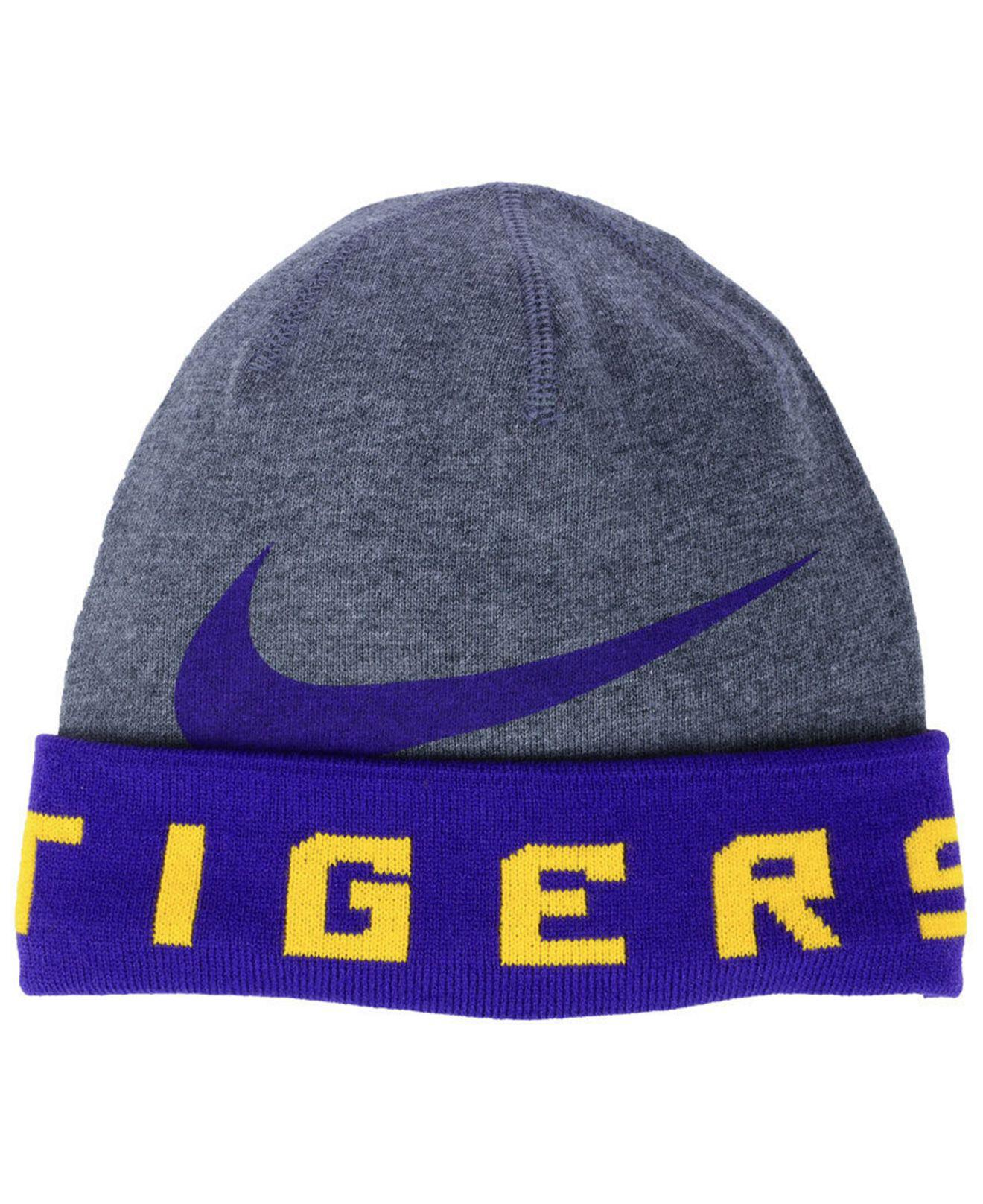 4e7ea111a53 Nike - Multicolor Lsu Tigers Training Beanie Knit Hat for Men - Lyst
