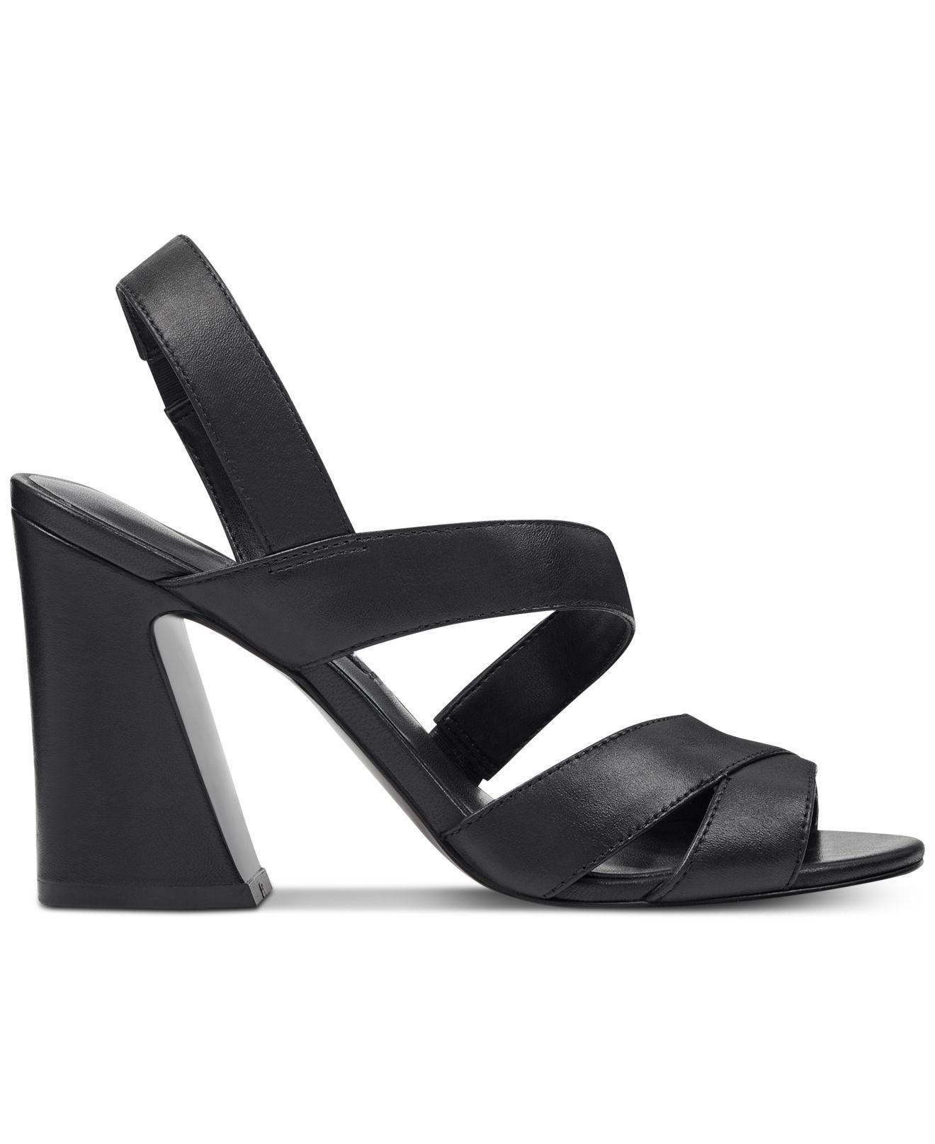 cec407d4899 Women's Black Nohemi Flare Heel Sandals